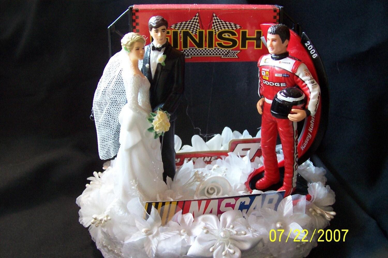 Nascar Wedding Cake Topper