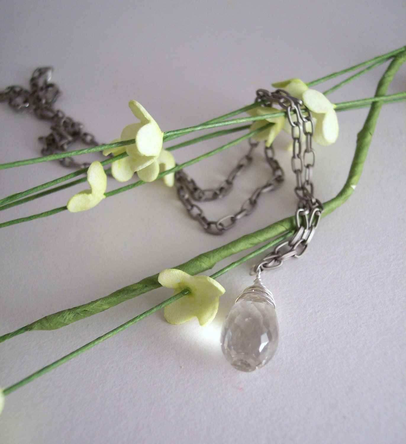 Timeless Prasiolite Necklace