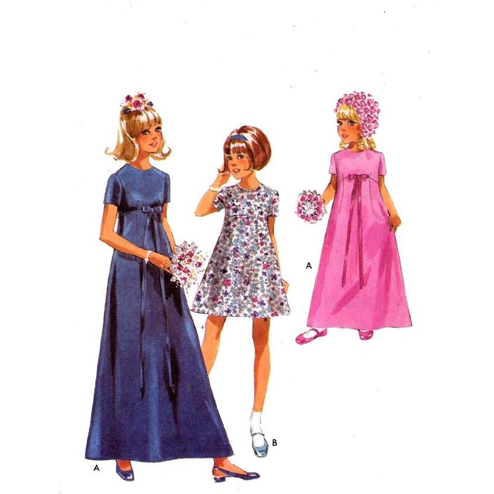 il 570xN.235101864 Flower Girl Dress Sewing Patterns