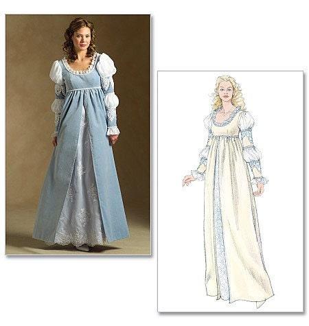 Danielle Ever After Easy Renaissance Gown by RenaissanceSupplySimple Renaissance Patterns