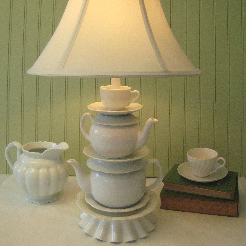 alice in wonderland teapot lamp