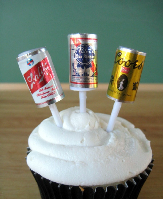 Beer Can Cupcake Cake Ideas and Designs