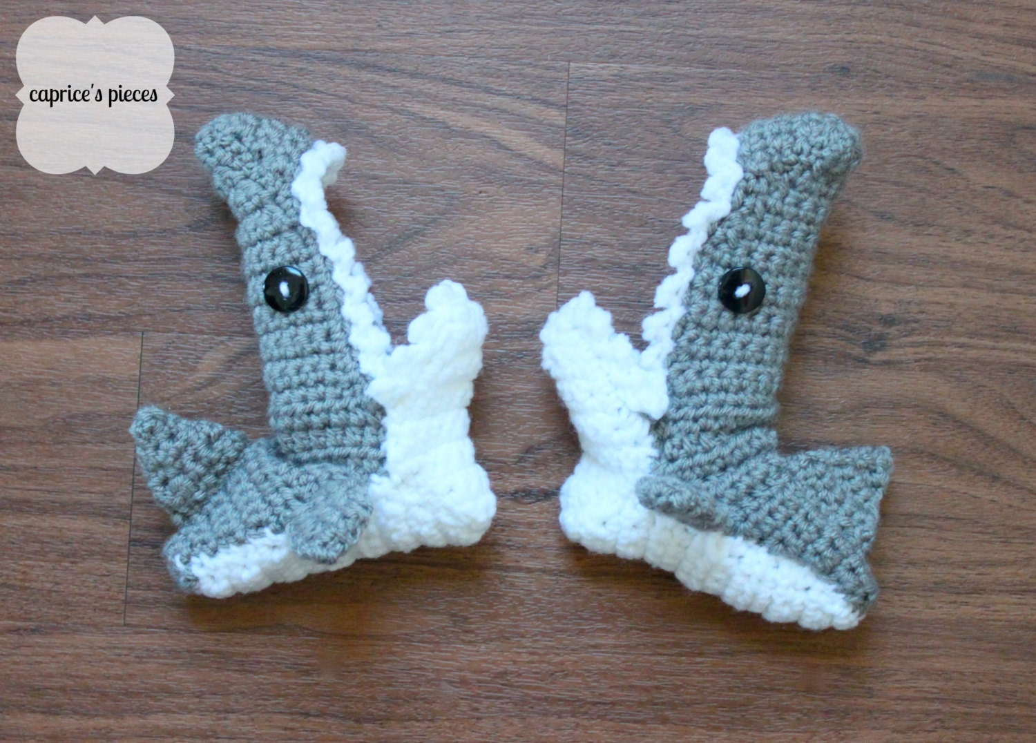 Items similar to Shark Crochet Hat on Etsy