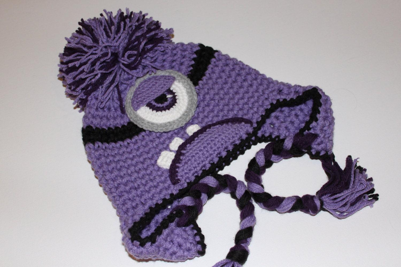 Ravelry: Purple Minion pattern by Ami Angela