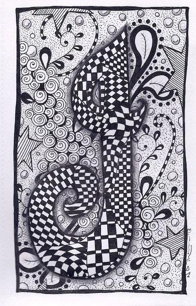 Galleries animal zentangle zentangle patterns giraffe zentangle