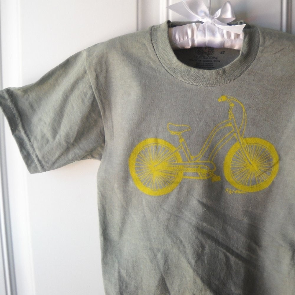 Bike Tee children and toddlers sizes choose your size and colors