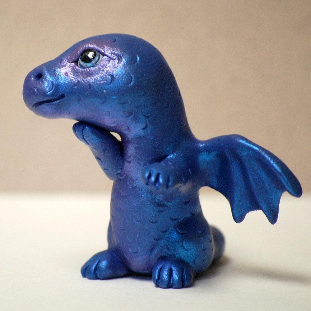 Little Bluish Purple Dragon by Shelly Schwartz