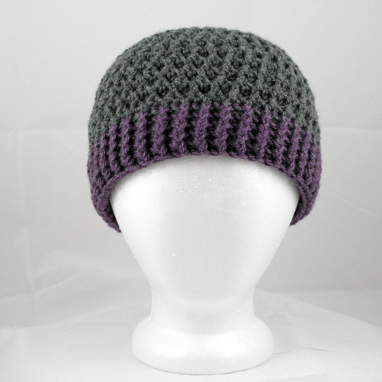 Crochet Hat Pattern: The Gridlock Unisex by Yarnington on Etsy