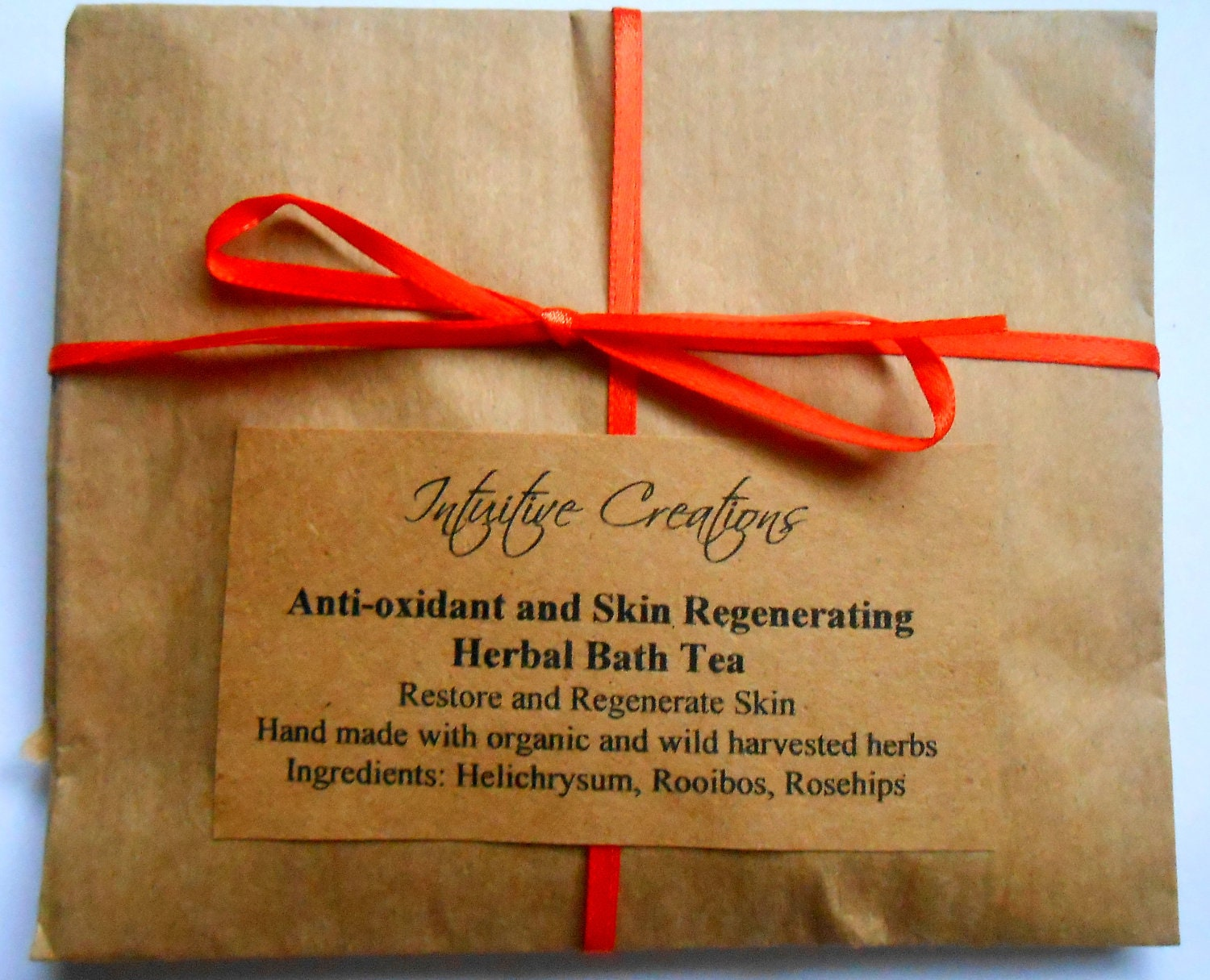 Anti-oxidant and Skin Regenerating Herbal Bath Tea Soak