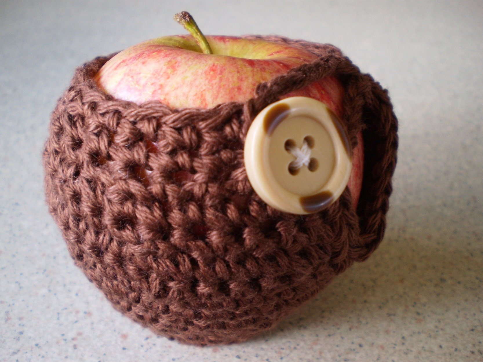 Oh...For The Love Of Fruit Chocolate Brown Apple Cozy