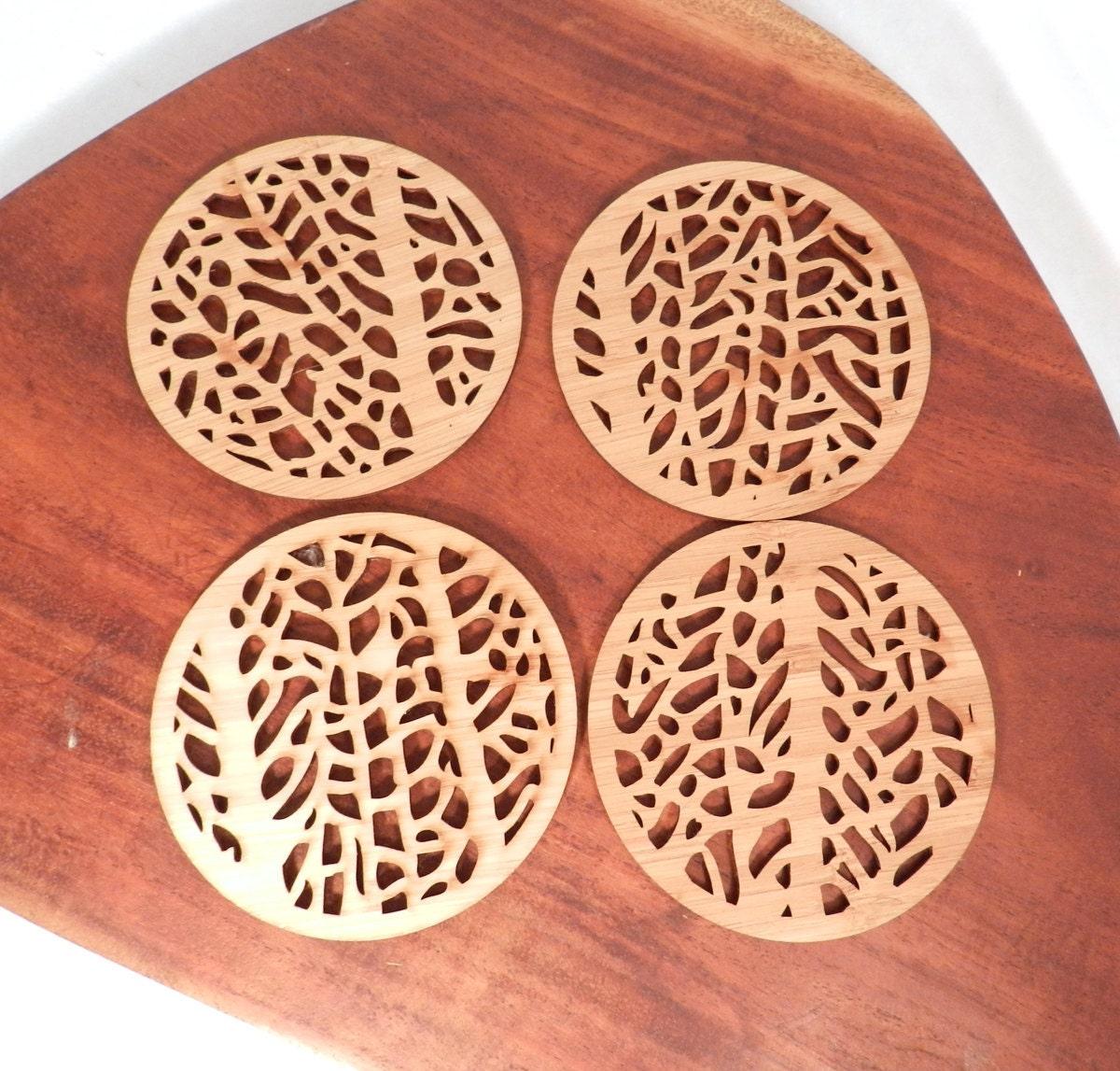 Fan Coral Coasters - designerica