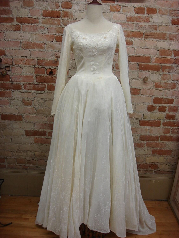 wedding dresses on etsy 6 velvet wedding dress s Ivory Beaded Crushed Velvet Wedding Gown USD