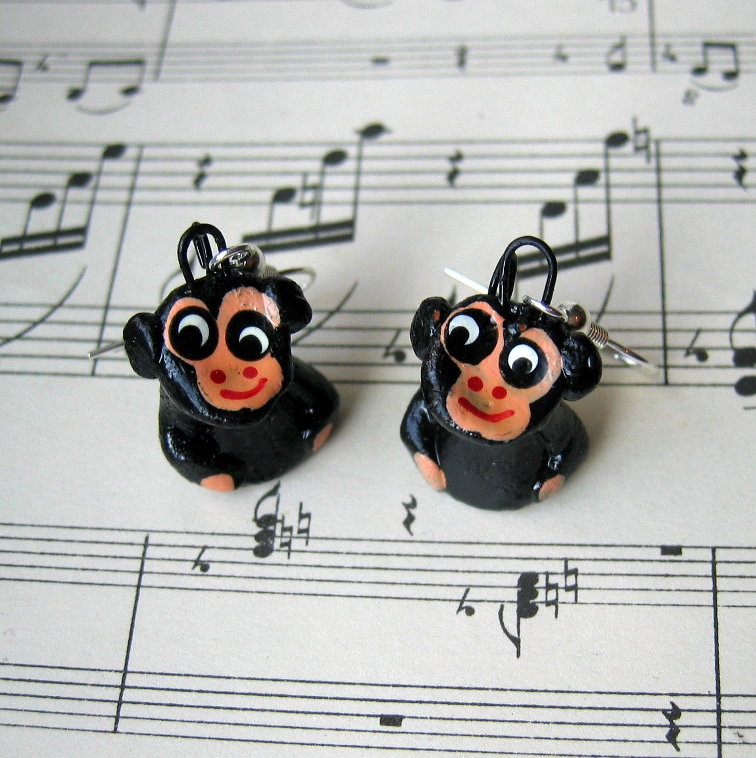 Cheeky Monkey Earrings