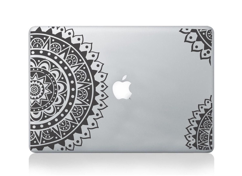 Macbook decal  Vinyl Sticker Decal for Macbook Pro Air  Sacred Geometry Spiritual Decal for macbook  Laptop Sticker  Polynesian Aztec