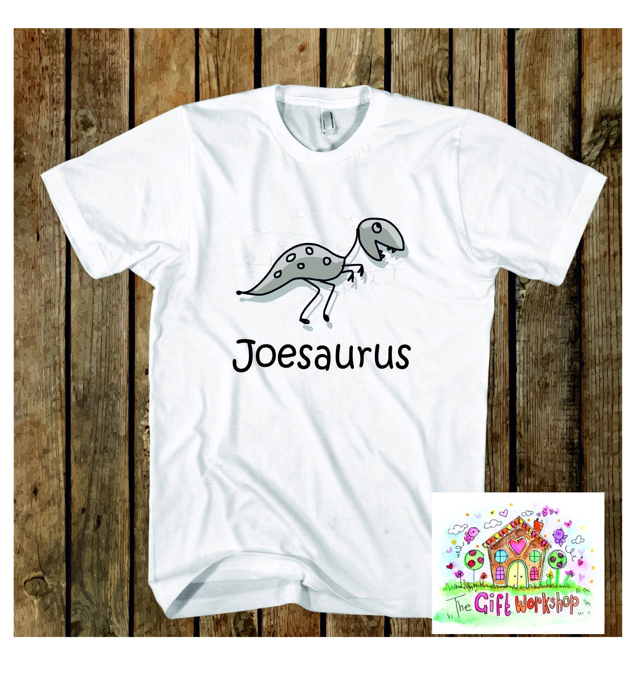 Personalised childrens Dinosaur T shirt T Rex  Personalized Childrens Dinosaur T Shirt Birthday  Christmas  Childrens Party
