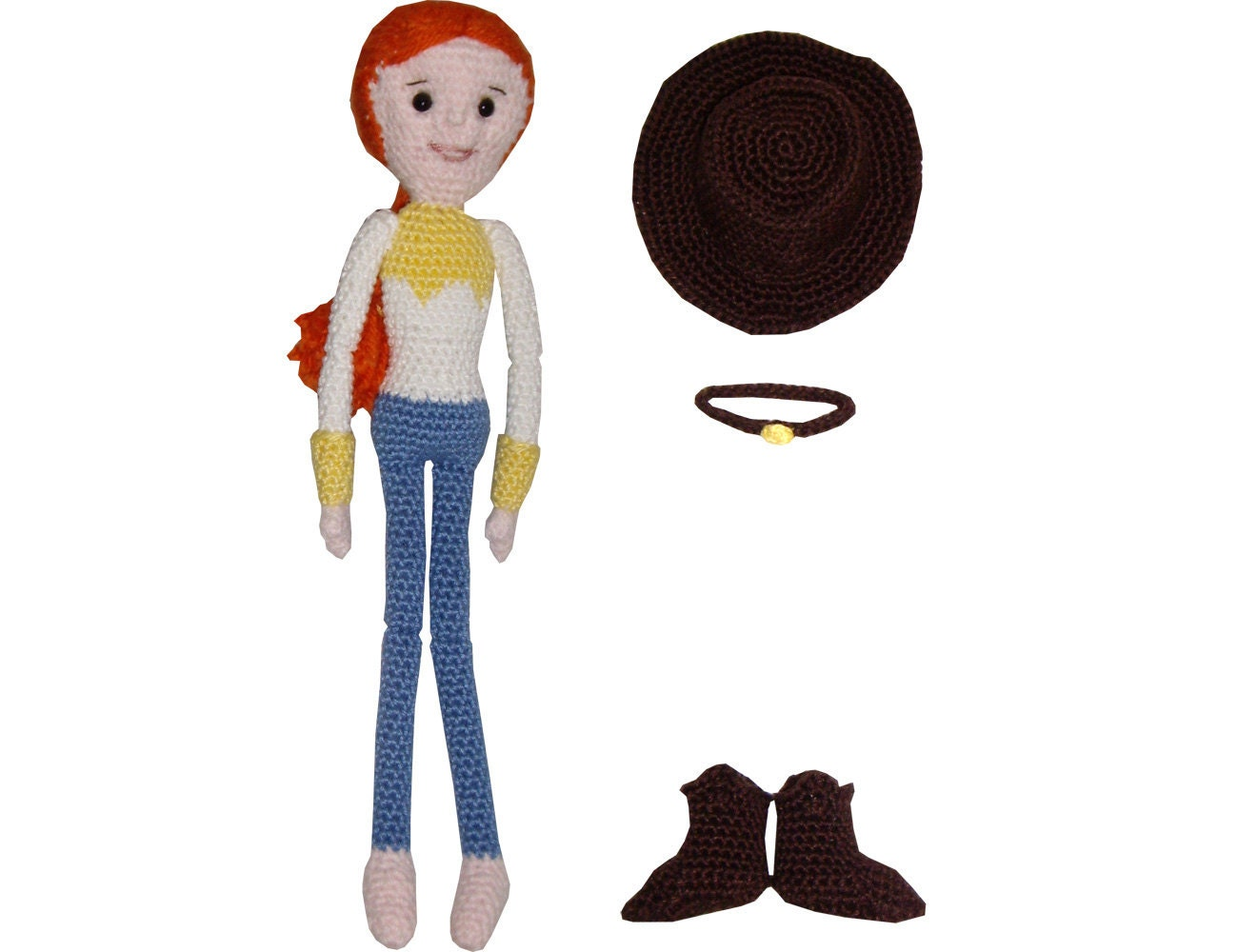 Items similar to Amigurumi Crochet Pattern: Jessie from ...