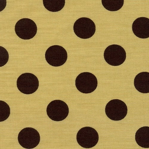 Brown Polka Dots in TanFat Quarter EKQS26304A by ikoplus on Etsy