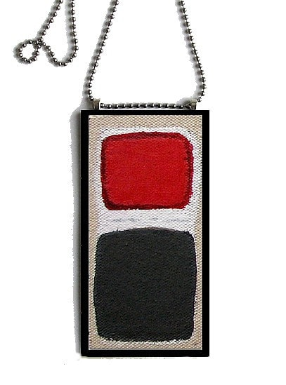 Space Odyssey: Pendant Painting by Will Wieber