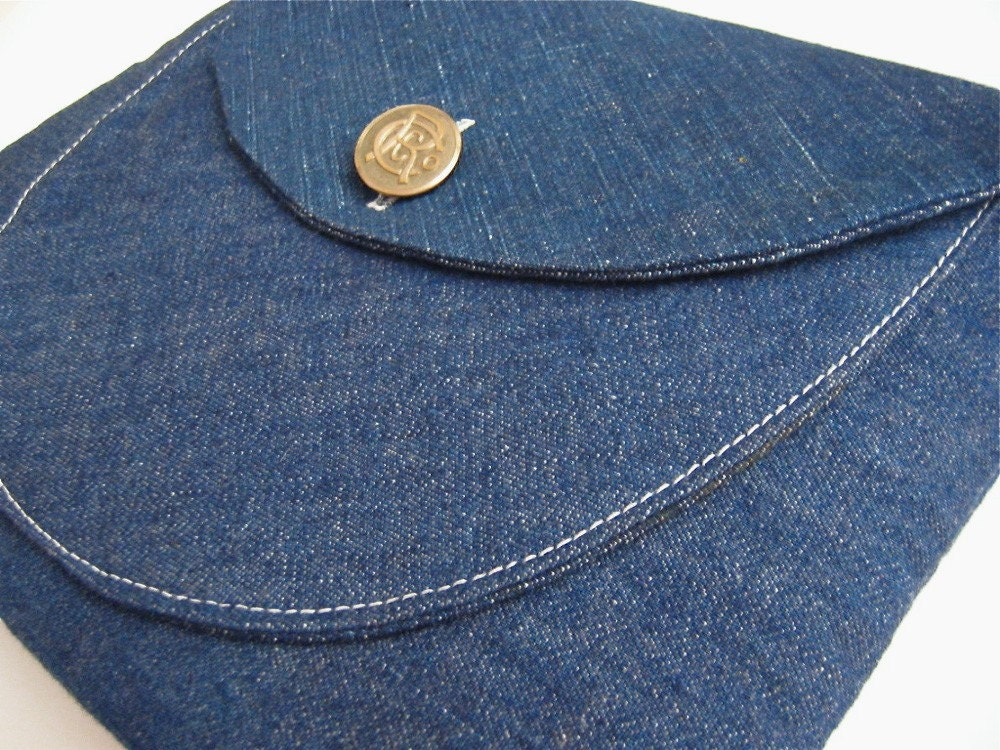 iPad 2 Case Porter Handmade Vintage Fabric iSockit