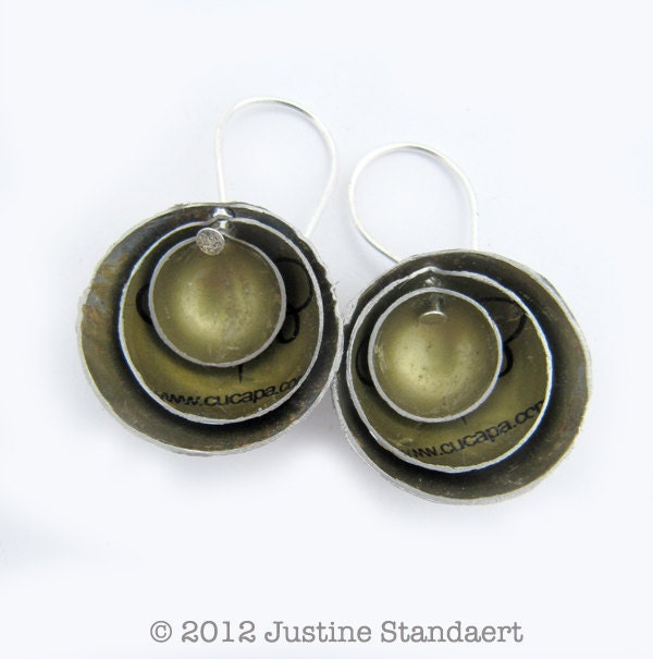 Concentric Circle Earrings: Unavailable Listing On Etsy