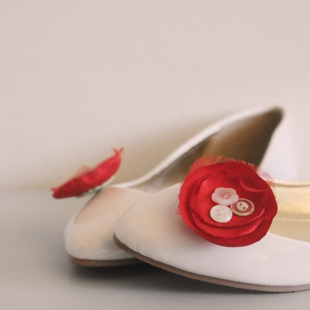 Blossom Flower Shoe Clips