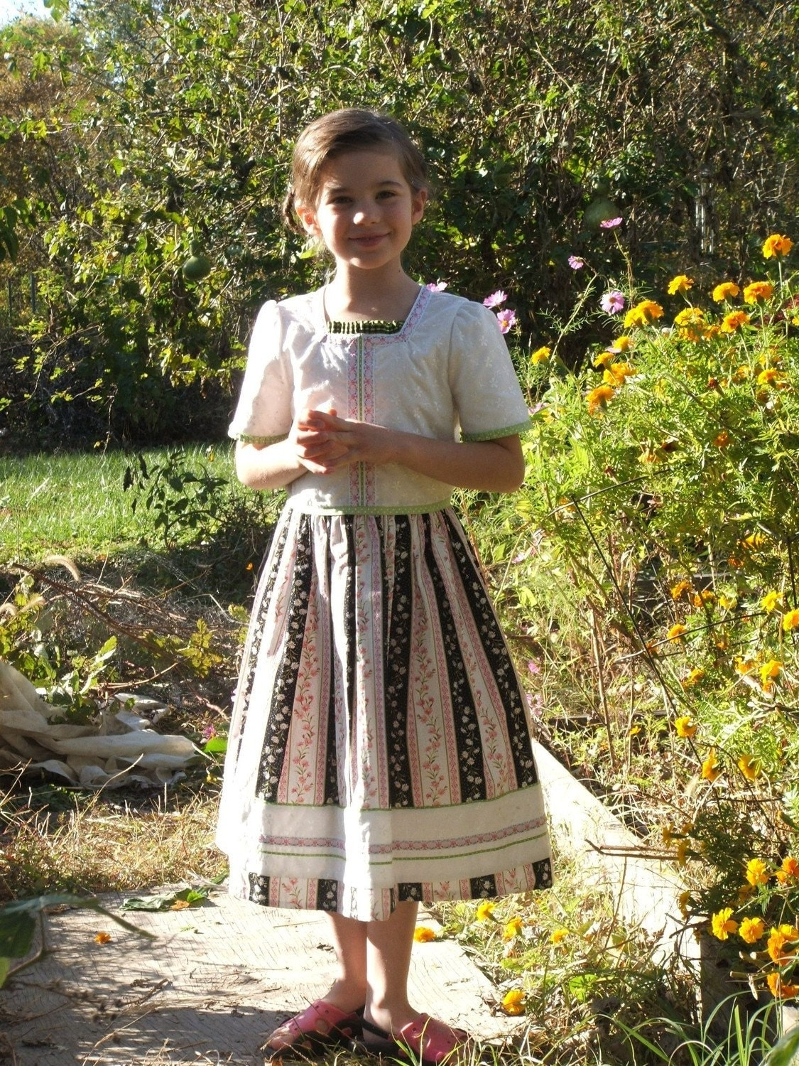 DANISH DIRNDL DRESS - Girls' size 7