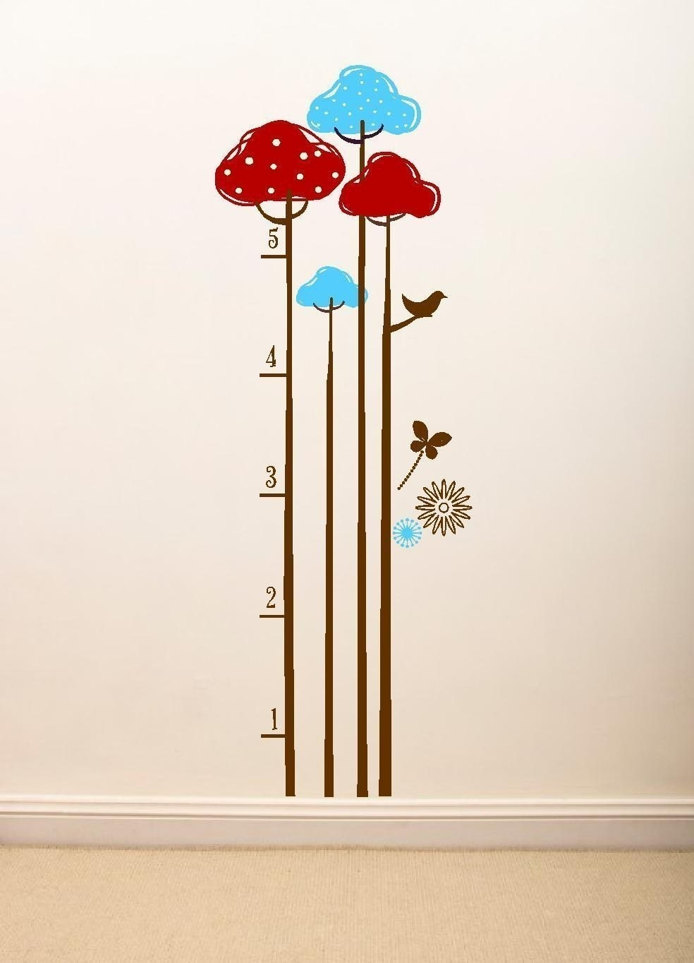 Etsy find wall decal growth charts child growth chart decal vinyl graphic wall art larger size nvjuhfo Gallery