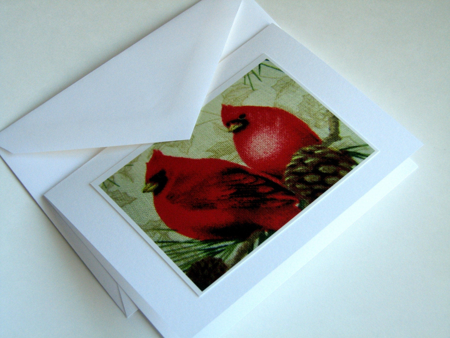Holiday Cardinals Note Cards (4)