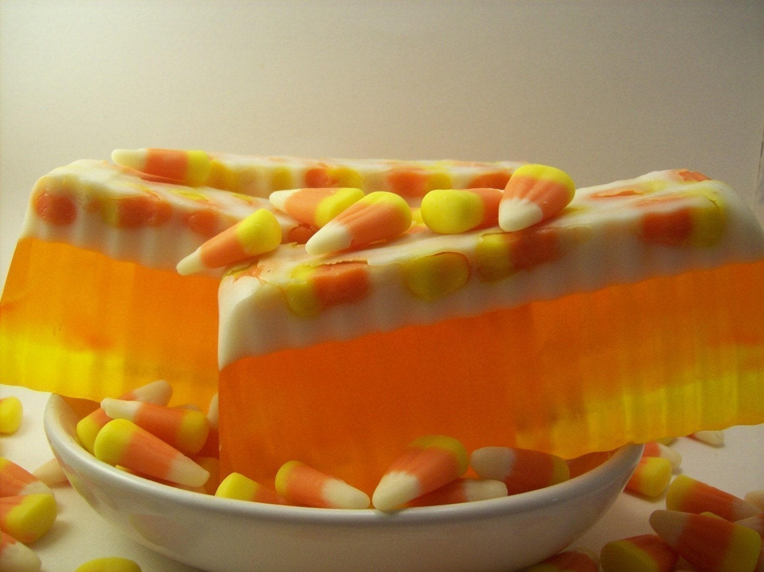 Candy Corn Soap  FREE SHIPPING