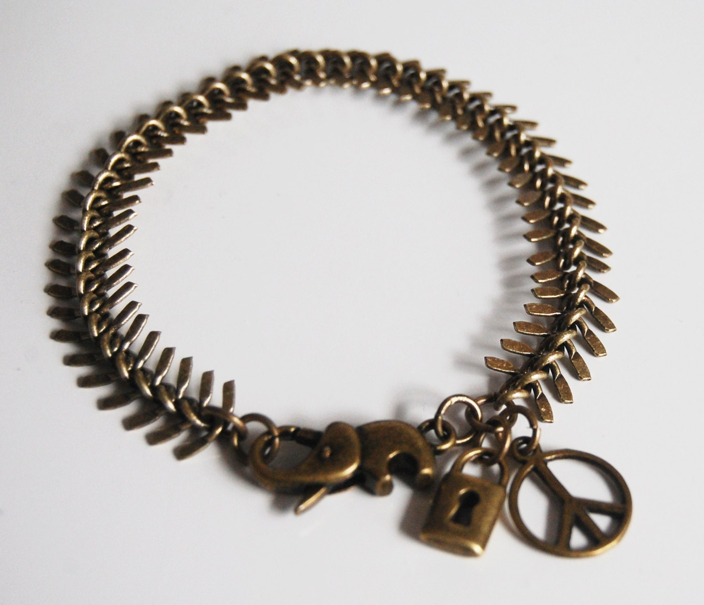 Custom jewelry custom jewelry for men fish for Mens fishing bracelet