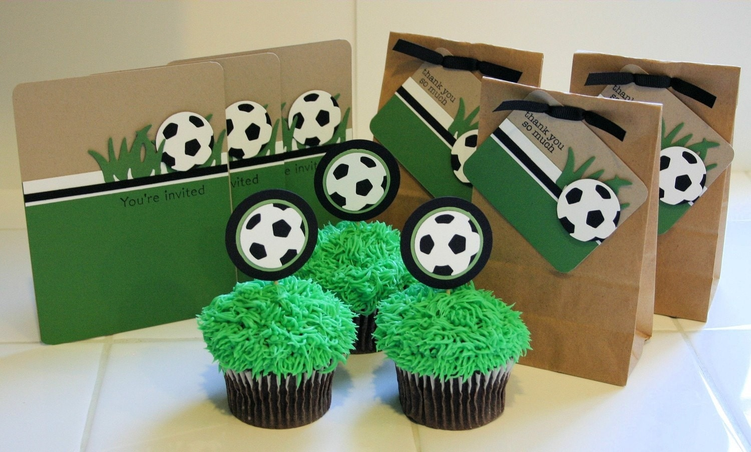 Soccer Birthday Party Kit - Customizable