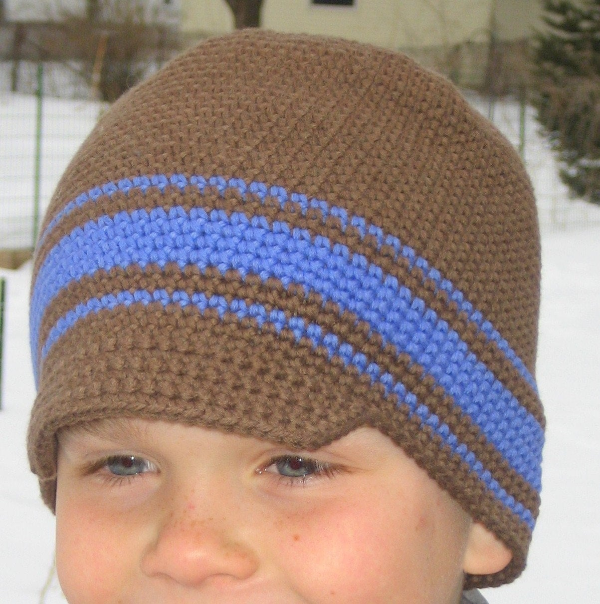 PATTERN SINGLE CROCHET BEANIE HAT SIZE 3-10 by AbsoluteKnits