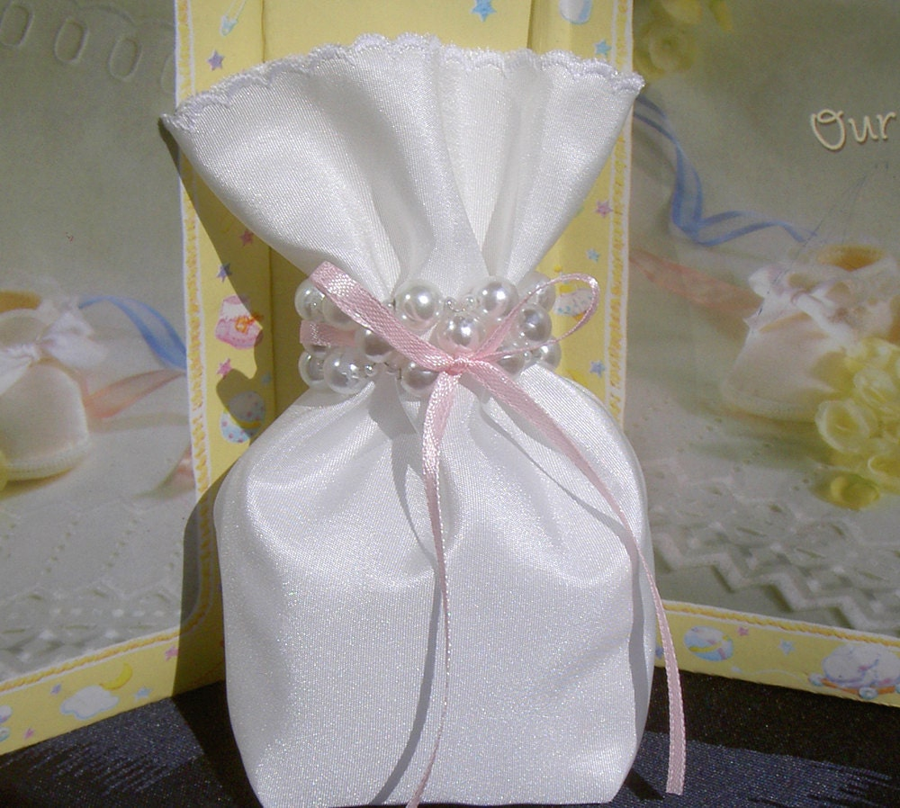 baby girl shower favor bag baby shower gift bag favor by umis