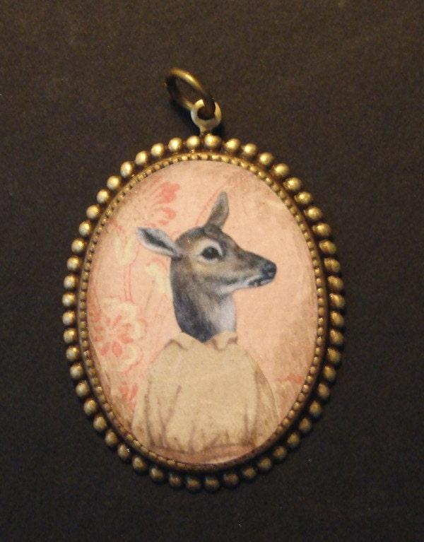 Deer Pendant.