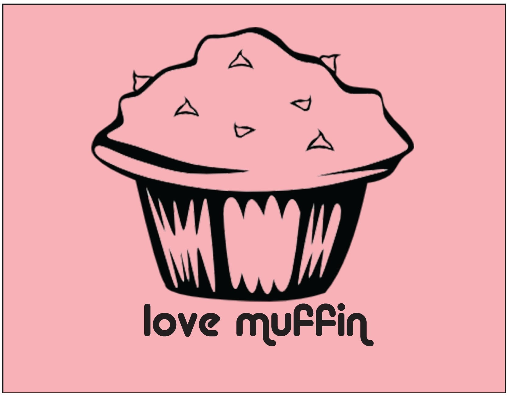 Love Muffin - Valentine's Day Card