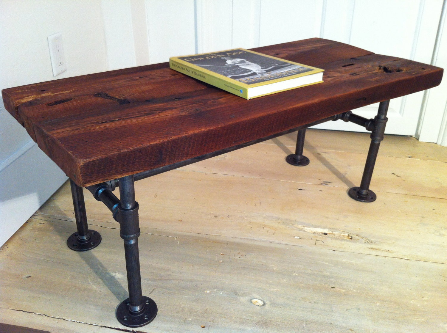 Reclaimed Barnwood Coffee Table Modern Industrial By Scottcassin