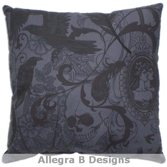 Victorian Throw Pillows : Victorian Gothic Decorative Throw Pillow Steampunk by AllegraB