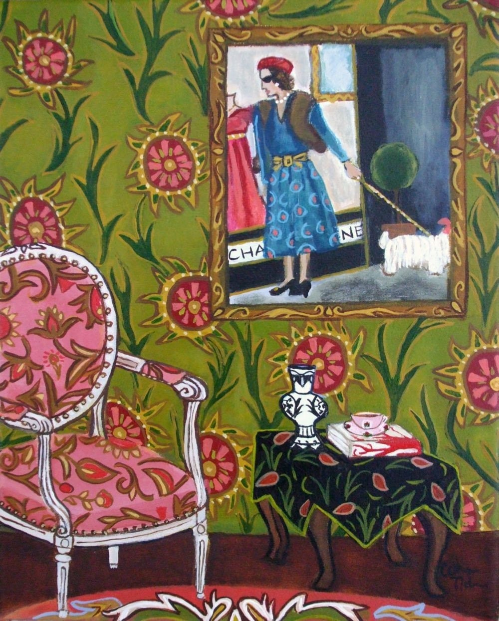 Window Shopping Fine Art print by Catherine Nolin