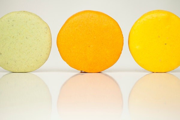 Food, Macarons, Pastels, Green, Yellow, Orange, Citrus, Kitchen, Wall art, Fine Art, Gift Idea, FPOE, Photography Image - janepackard