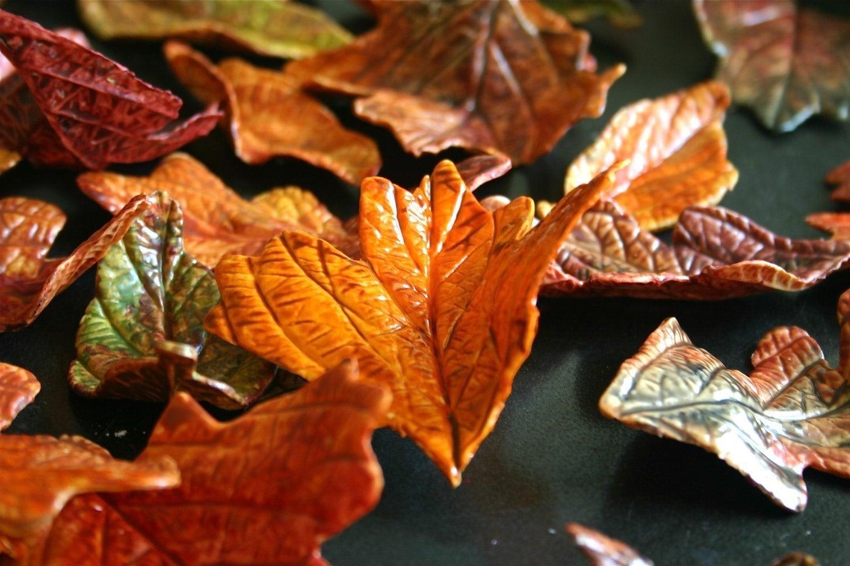 Съедобные Падение сахара Листьев 2 десятка прием заказов сейчас, на осень