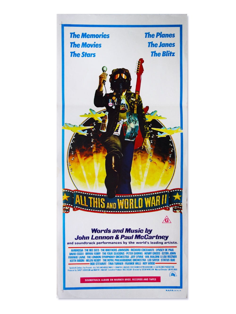 All This and World War II  Original Vintage Film Poster