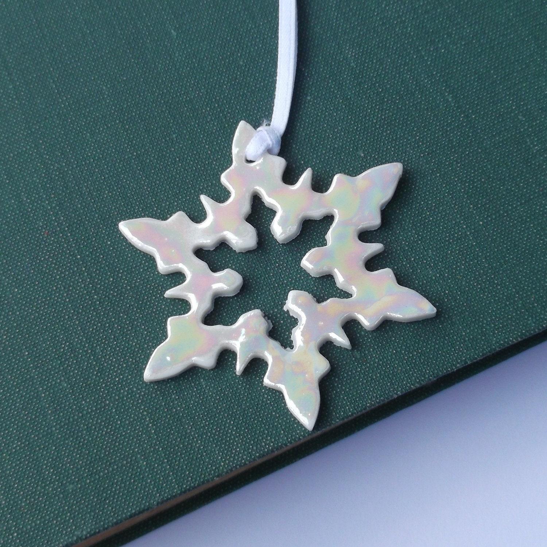 Snowflake Ornament Christmas Decorations Stocking Filler Christmas tree decorations Christmas tree ornaments xmas decoration