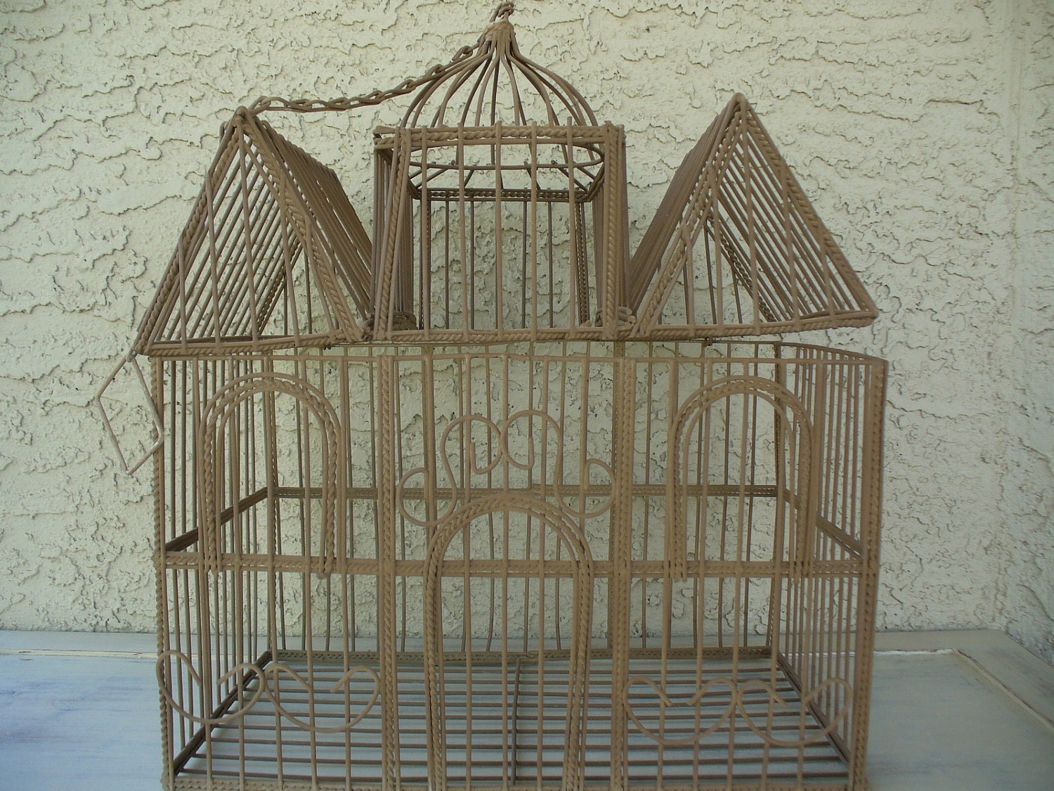 Rescued Old Wire Bird Cage