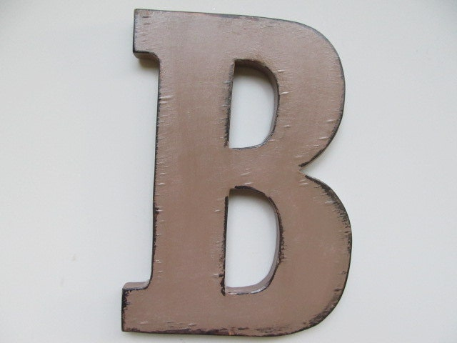Large Wooden Letters For Wall Decor : Items similar to decoration large wall letters wooden
