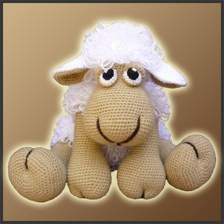 Elton, The Sheep - Amigurumi Pattern