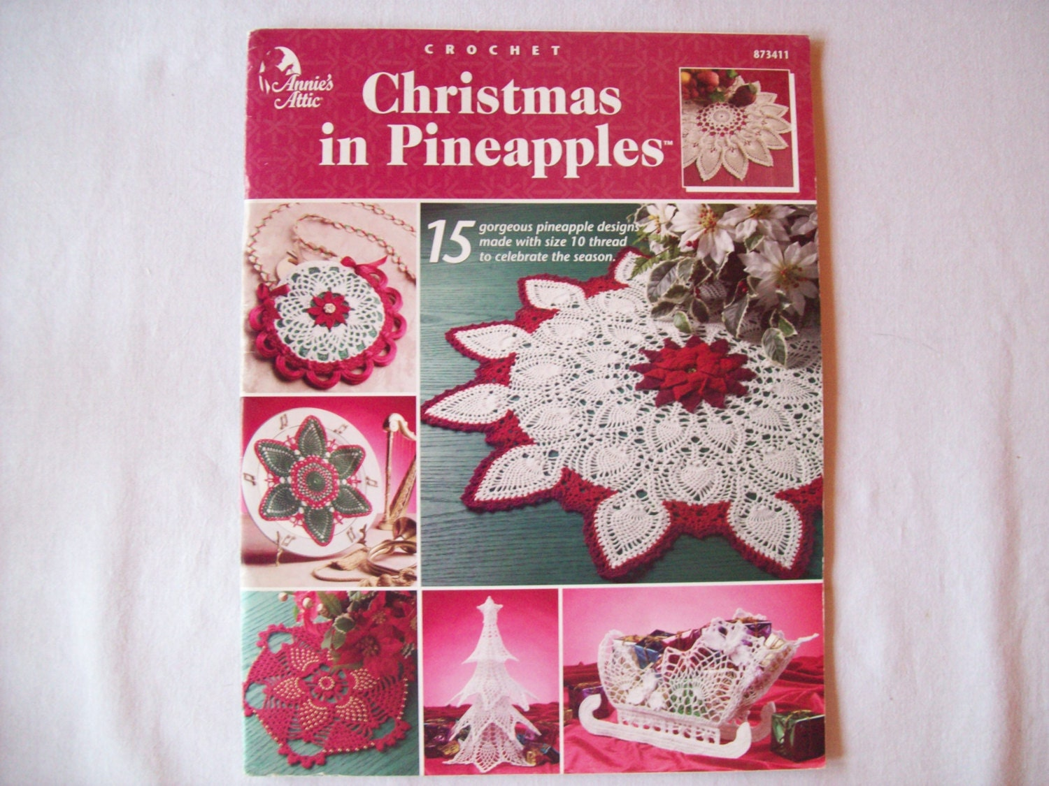 Christmas In Pinapples Crochet Pattern Book By Cozyhomecrochet