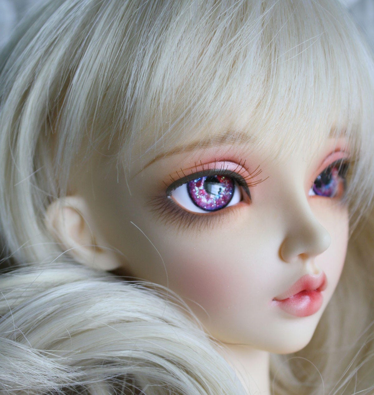 BJD eyes Doll eyes Hand made available in 12141618202224mm Raspberry Coulis made to order