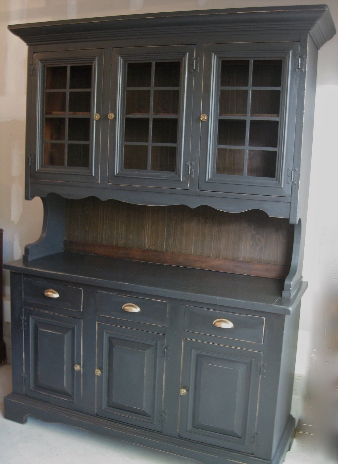 Vintage Country Hutch By Monetsattic On Etsy