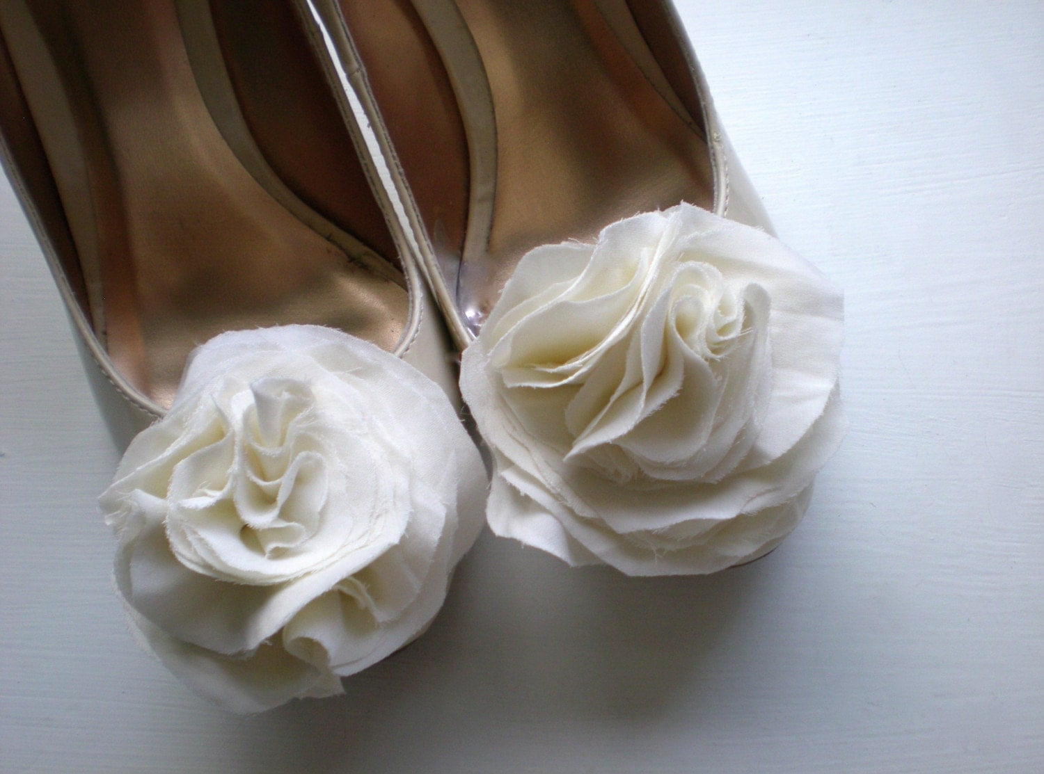 B. Poetic Silk Shoe Clips
