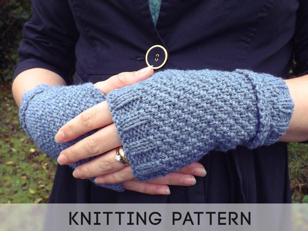Knitting Patterns Uk Fingerless Gloves : Unavailable listing on etsy